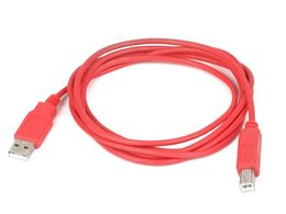 Mikroe USB Cable A to B - RED