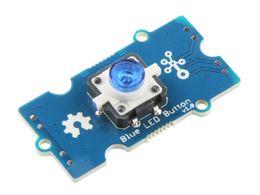 Grove Blue LED Button