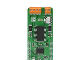 Mikroe Stepper 7 click - H-Bridge Bipolar Stepper Motor Driver - MTS62C19A