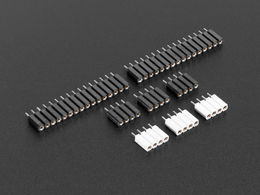 Set of Header Pins for MicroPython pyboard
