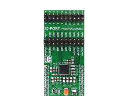 Mikroe PIXI click - Programmable mIXed signal In/Out - MAX11300