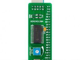 Mikroe Serial GLCD 240x128 Adapter Board
