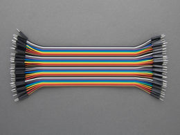 Jumper Wires - 40 pcs - Male to Male - 20 cm
