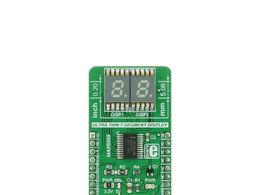 Mikroe UT-S 7-SEG R click - Ultra Thin 7 Segment Red Numeric Display Module