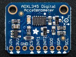 ADXL345 - Triple-Axis Accelerometer (2g/4g/8g/16g) w/ I2C/SPI