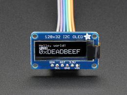 Monochrome 128x32 I2C OLED graphic display