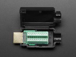 HDMI Plug to Terminal Block Breakout