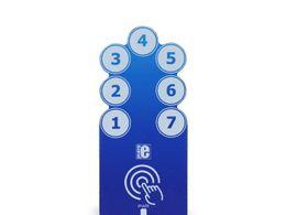 Mikroe TouchKey 3 click - 7 Key Capacitive Touch Sensor