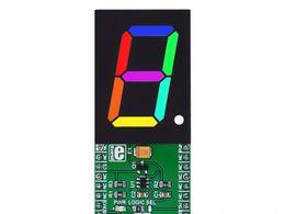 Mikroe 7-SEG RGB click - 7 Segment RGB Digit Display Board