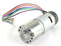 Devantech 12V, 30:1 Gear Motor w/ Encoder
