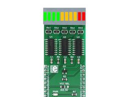 Mikroe BarGraph 2 click - 10-segment Bar Graph Module