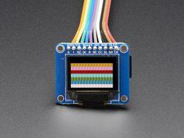"OLED Breakout Board - 16-bit Color 0.96"" w/microSD holder"