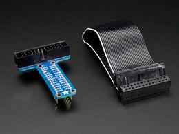 Adafruit Assembled Pi T-Cobbler Breakout for Raspberry Pi