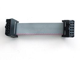 """10-pin Socket/Socket IDC cable - Short 1.5"""""""