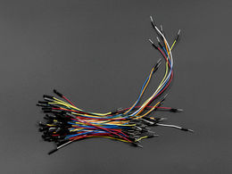 Breadboard Jumper Wires Female to Male - 65 Pcs. - 4 Sizes