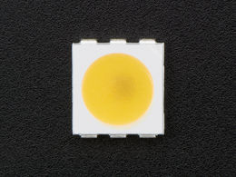 APA102 5050 Warm White LED w/ Integrated Driver Chip - 10 Pack - 3000K