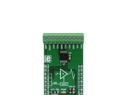 Mikroe GainAMP 2 Click - 6 Channel Rail to Rail Programmable Gain Amplifier w/ SPI - MCP6S21
