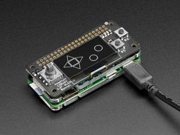 OLED Bonnet Pack for Raspberry Pi Zero - Includes Pi Zero W