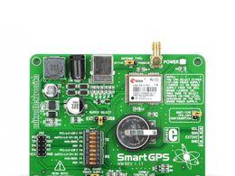 Mikroe SmartGPS Board - Development Tool with LEA-6S Module