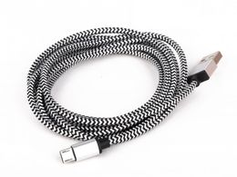 Mikroe USB Cable 2m Braided Brown (Type A-Micro B)