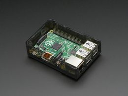 Pi Model B+ / Pi 2 / Pi 3 Case Base - Smoke Gray