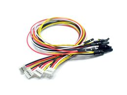 Grove 4 pin Female Jumper to Grove 4 pin Conversion Cable (5 PCs per Pack)