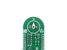 Mikroe GeoMagnetic click - 3 Axis Geomagnetic Sensor