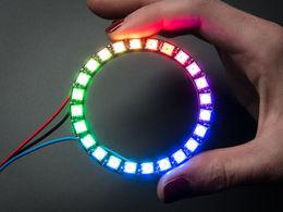 Adafruit NeoPixel Ring - 24 RGB LEDs