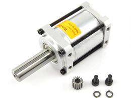 """Banebots P60 Gearbox: 1.5"""" Shaft, RS-700 Mount, 64:1 (No Grease)"""