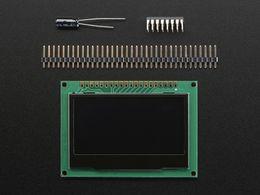 "Monochrome 2.42"" 128x64 OLED Graphic Display Module Kit"