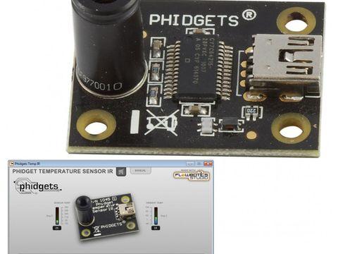 Phidgets USB Temperature Sensor w/ FlowBotics App