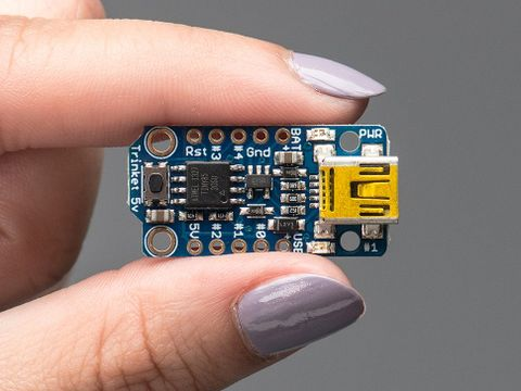 Adafruit Trinket 5V - Mini Microcontroller