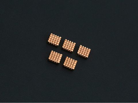 Copper Heatsink Pack x 5