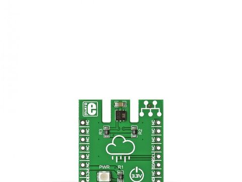 Mikroe HTU21D click - Humidty and Temperature Sensor