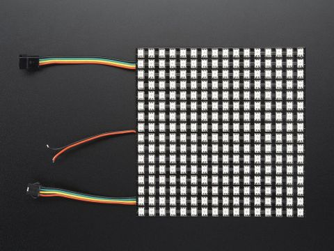 Flexible Adafruit DotStar Matrix 16x16 - 256 RGB LED Pixels