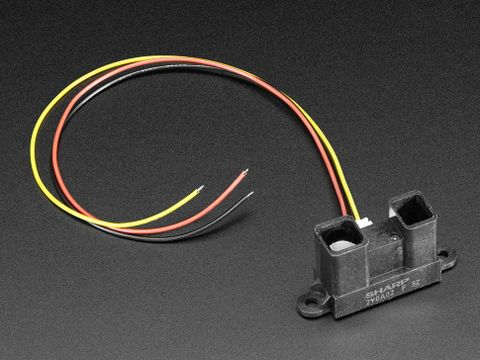 Sharp IR distance sensor includes cable (20cm-150cm) - GP2Y0A02YK