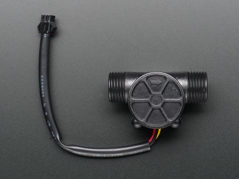 "Water Flow Sensor - Plastic 1/2"" NPS Threaded"