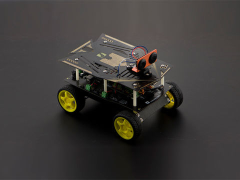 Cherokey: A 4WD Arduino Basic Robot Building Kit