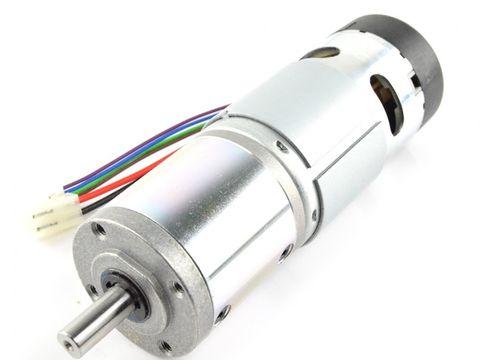 49:1 Planetary DC Geared Motor 42mm