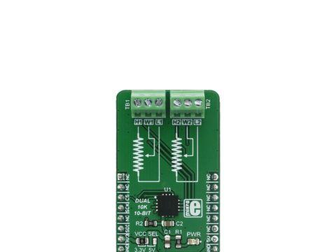 Mikroe DIGI POT 4 click - Dual Channel Digital Potentiometer (10 KΩ) - MAX5494