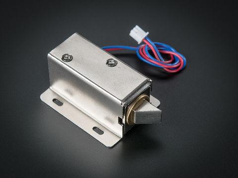 Lock-style Solenoid - 12VDC