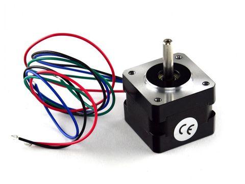 10V, 0.5A, 13oz-in Bipolar Stepper Motor