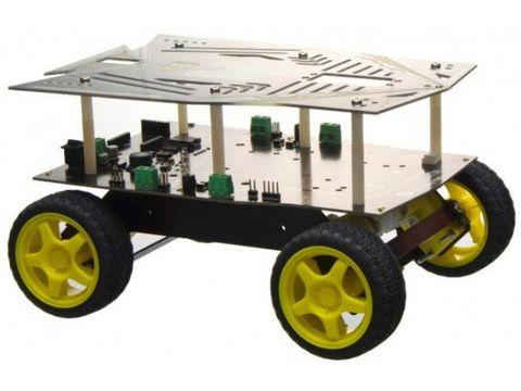 Cherokey 4WD Arduino Mobile Platform