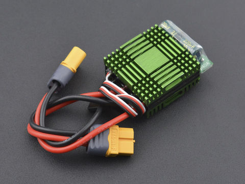 40A Bidirectional Brushed ESC Speed Controller without Brake (XT60 Connector)