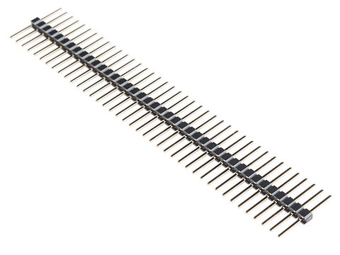 "Break Away Headers - 40-pin Male (Long Centered, PTH, 0.1"")"