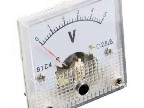 SFE Analog Voltage Panel Meter - 0 to 5V