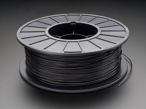 PLA Filament for 3D Printers - 1.75mm Diameter - Black - 1KG