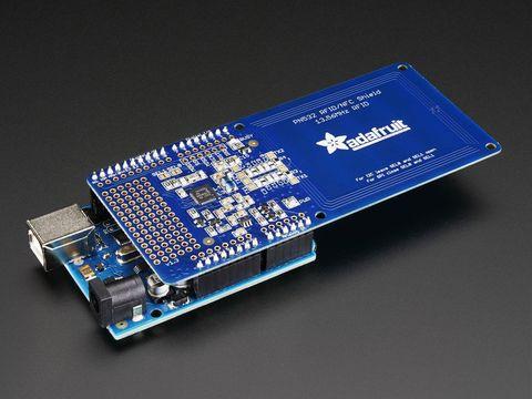Adafruit PN532 NFC/RFID Controller Shield for Arduino + Extras