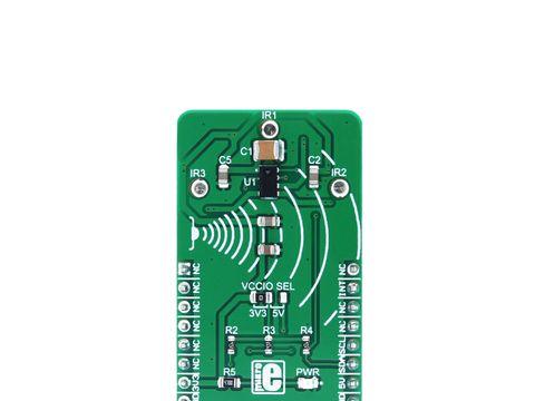 Mikroe Proximity 5 click - Proximity and Ambient Light Sensor w/ I2C - VCNL4035X01 J
