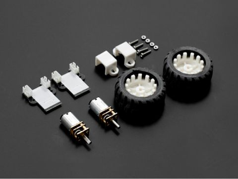 MiniQ Motor Wheel Set with Encoder